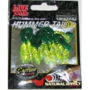 Capture- Twister Vierme Hummer Tail 5.5cm Green