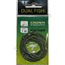 Dual Fish - Rig Tube Kaki 1m
