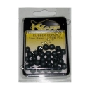 K-Karp - Pro Rubber Beads 6mm