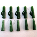 Mostiro - Kit Safety Clips + Con Verde/5pcs