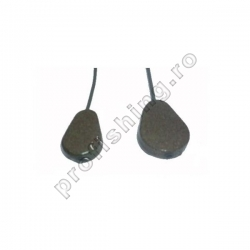 Carp Lead - Plumb Flat-Pear In-Line / Tub Flexibil