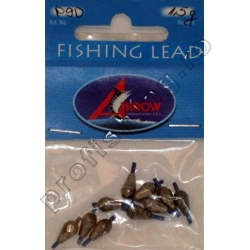 Arrow - Set Plumbi Culisanti Fishing Lead - 2,5 gr