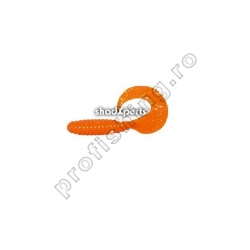 ShadXperts - Twister Regular 6cm Orange Gliter - 10buc/set