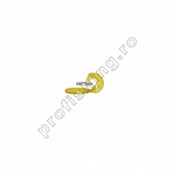 ShadXperts - Twister Regular 6cm Pearl/Yellow-10pcs