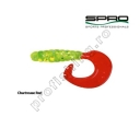 Spro - Twister Spiro Tail Chartr/Red 3.5cm