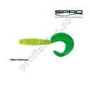 Spro - Twister Spiro Tail Yellow/Chartr 5.5cm